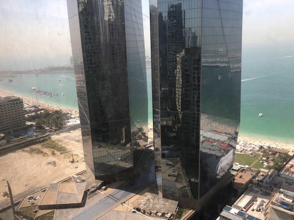 Der Ausblick aus unserem Appartement - Direkter Meerblick