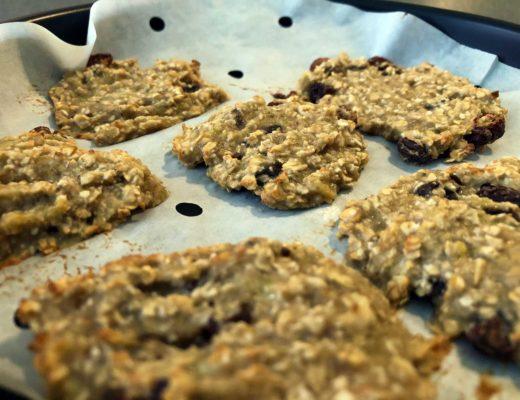 Haferflocken-Bananen-Cookies für Babys ab ca. 10 Monaten